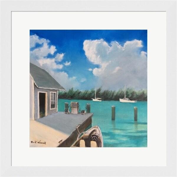 Rick Novak 'Harbor' Framed Art