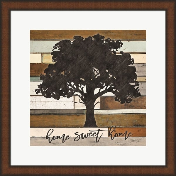 Marla Rae 'Home Sweet Home' Framed Art