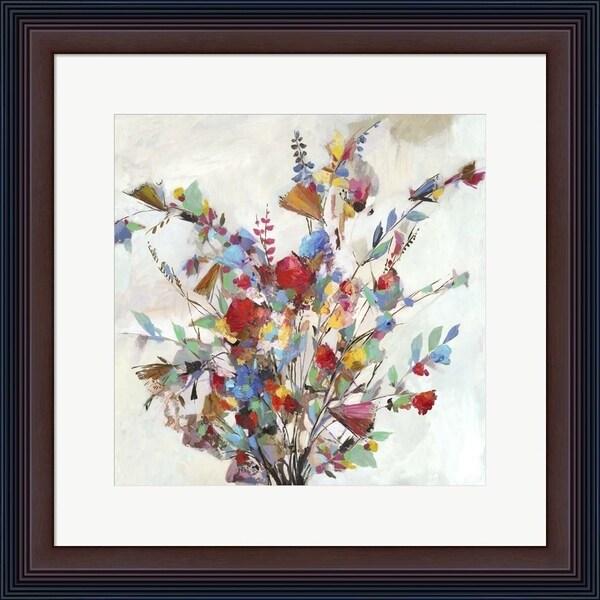 Allison Pearce 'Spring Bouquet' Framed Art