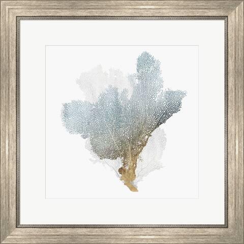Isabelle Z 'Delicate Coral III' Framed Art