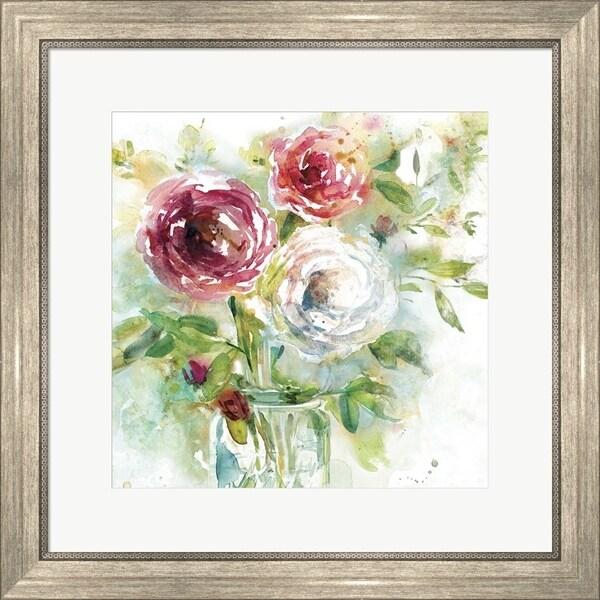 Elizabeth Franklin 'Garden Jar I' Framed Art