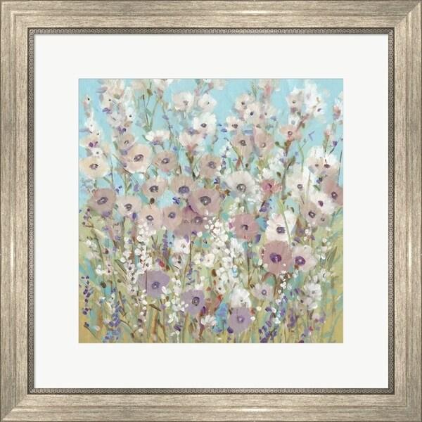 Timothy O'Toole 'Mixed Flowers II' Framed Art