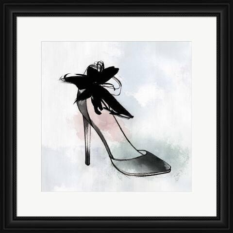 Isabelle Z 'Black Heel II' Framed Art