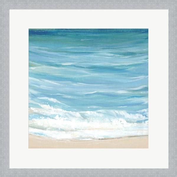 Timothy O'Toole 'Sea Breeze Coast I' Framed Art