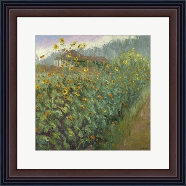 Julie Joy 'Burst Of Spring' Framed Art