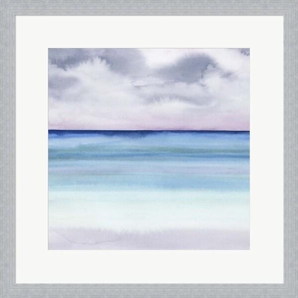 Grace Popp 'Twilight Sands II' Framed Art
