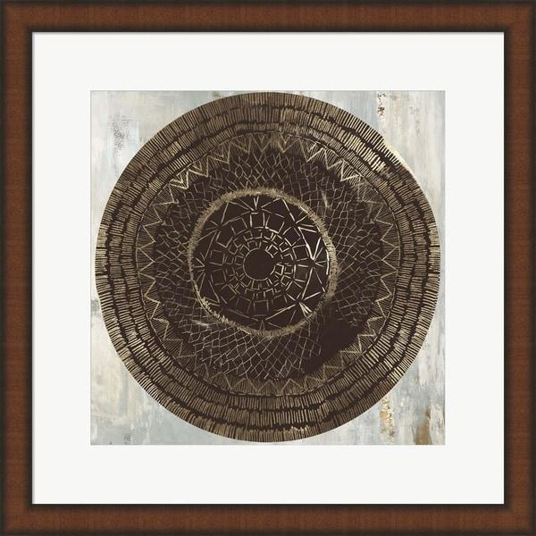 Tom Reeves 'Zulu Gold II' Framed Art