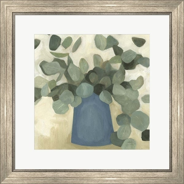 Emma Scarvey 'Greenery Still Life VI' Framed Art
