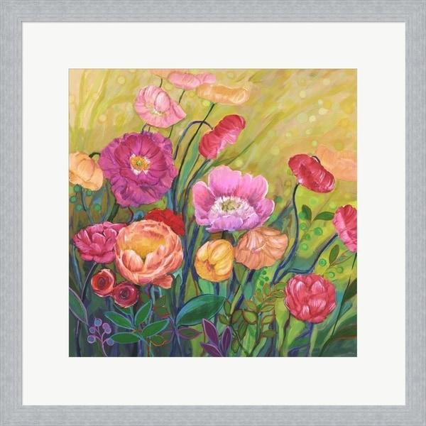 Julie Joy 'Flower Field I' Framed Art