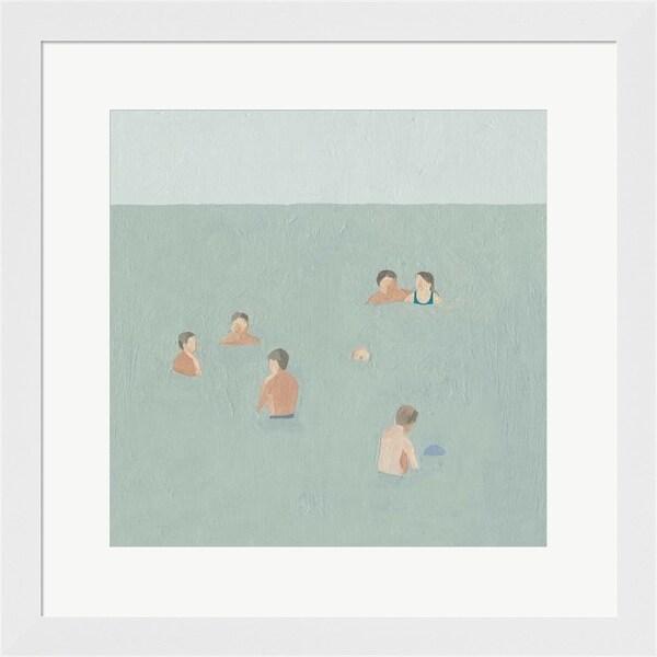 Emma Scarvey 'The Swimmers II' Framed Art