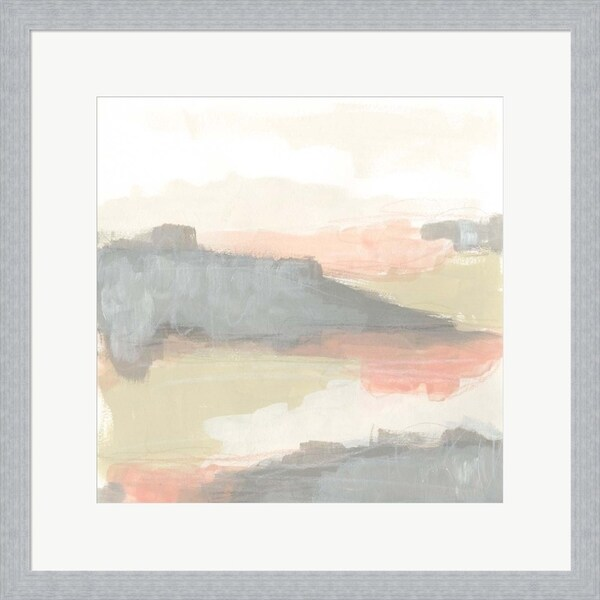 June Erica Vess 'Valley Haze I' Framed Art