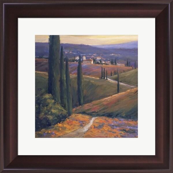 Allayn Stevens 'Afternoon I' Framed Art