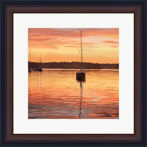 Emily Kalina 'Sailing Portrait III' Framed Art