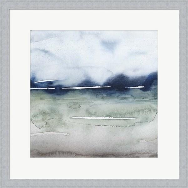 Grace Popp 'Uplands II' Framed Art