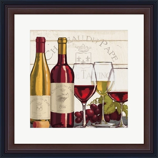 Janelle Penner 'Wine Tasting II' Framed Art