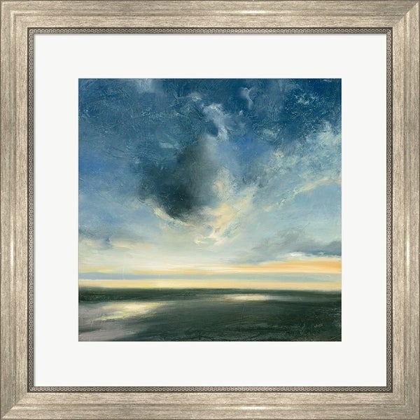 Julia Purinton 'Coastal Sunrise' Framed Art