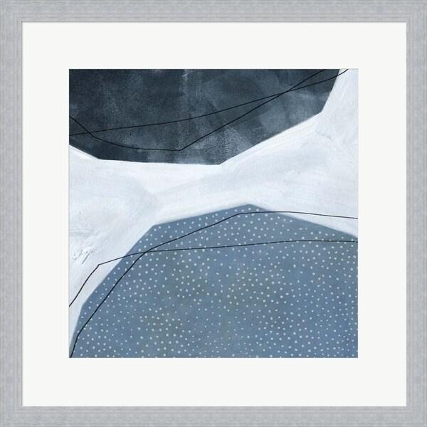 Emma Scarvey 'Adjacent Abstraction I' Framed Art