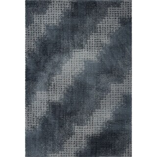 LaDole Rugs Stylish Modern Abstract Coquitlam Soft Grey Area Rug 3x5