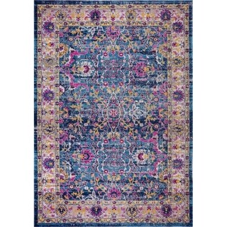 LaDole Rugs Timeless Whitby Blue Beige Europe Outdoor Mat