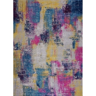 LaDole Rugs Timeless Yorkson Abstract Outdoor Mat