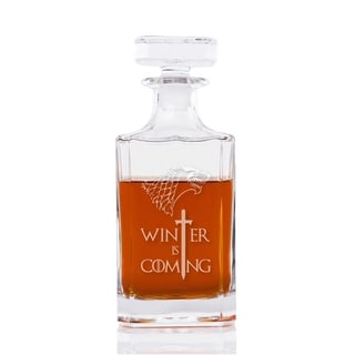Winter is Coming Engraved Decanter 26-ounce