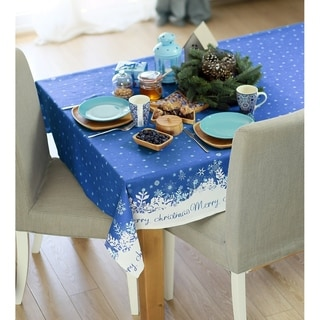Link to Merry Christmas Printed Decorative Tablecloth Similar Items in Table Linens & Decor
