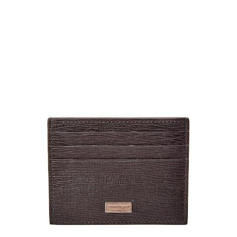Salvatore Ferragamo Leather Card Case - NoSize
