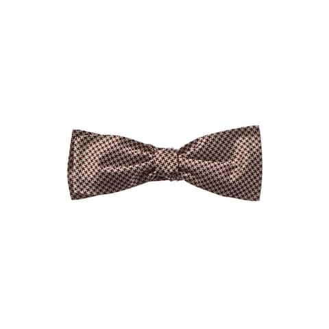 Dunhill Red Check Silk Bow Tie - NoSize