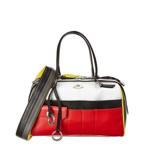 Zadig & Voltaire Twister Small Leather Duffel Bag