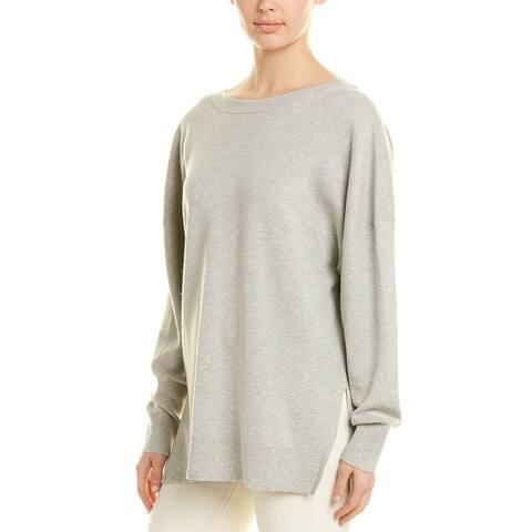 Iro Cashmere-Blend V-Neck Sweater - GRY02 LIGHT GREY