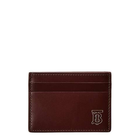Burberry Monogram Motif Leather Card Case - NoSize