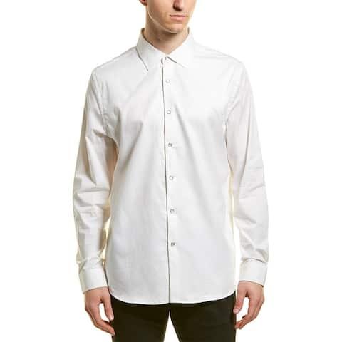 Karl Lagerfeld Textured Woven Shirt