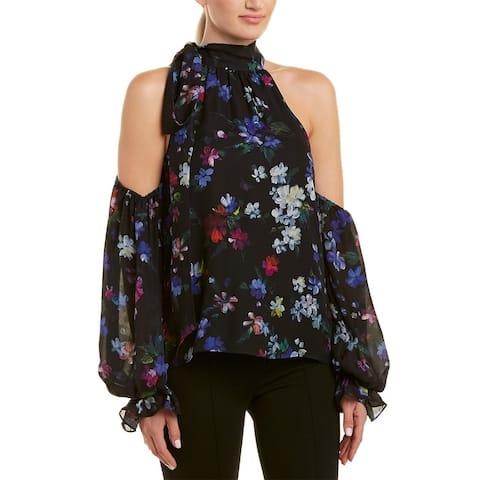 Milly Viola Silk Top