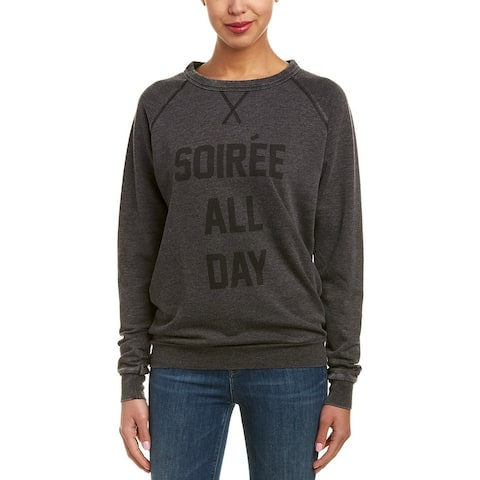The Laundry Room Soiree All Day Cozy Sweater - COAL