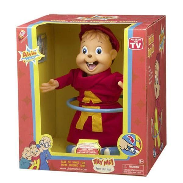 Alvin the Chipmunk Hula Hoop Singing Doll for Kids
