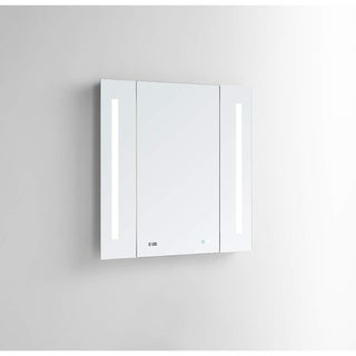 "AQUADOM Breeze, Three Panel Folding, LED Mirror 40""x36""x1.5"""
