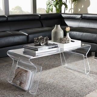 Good Adair Acrylic Coffee Table