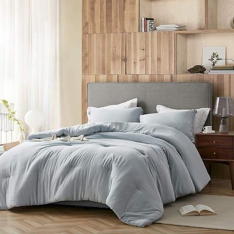 Modal Yarn Dyed - Passive Blue Comforter
