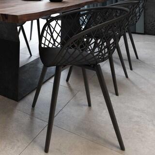 Black Kurv Chair - Set of 2