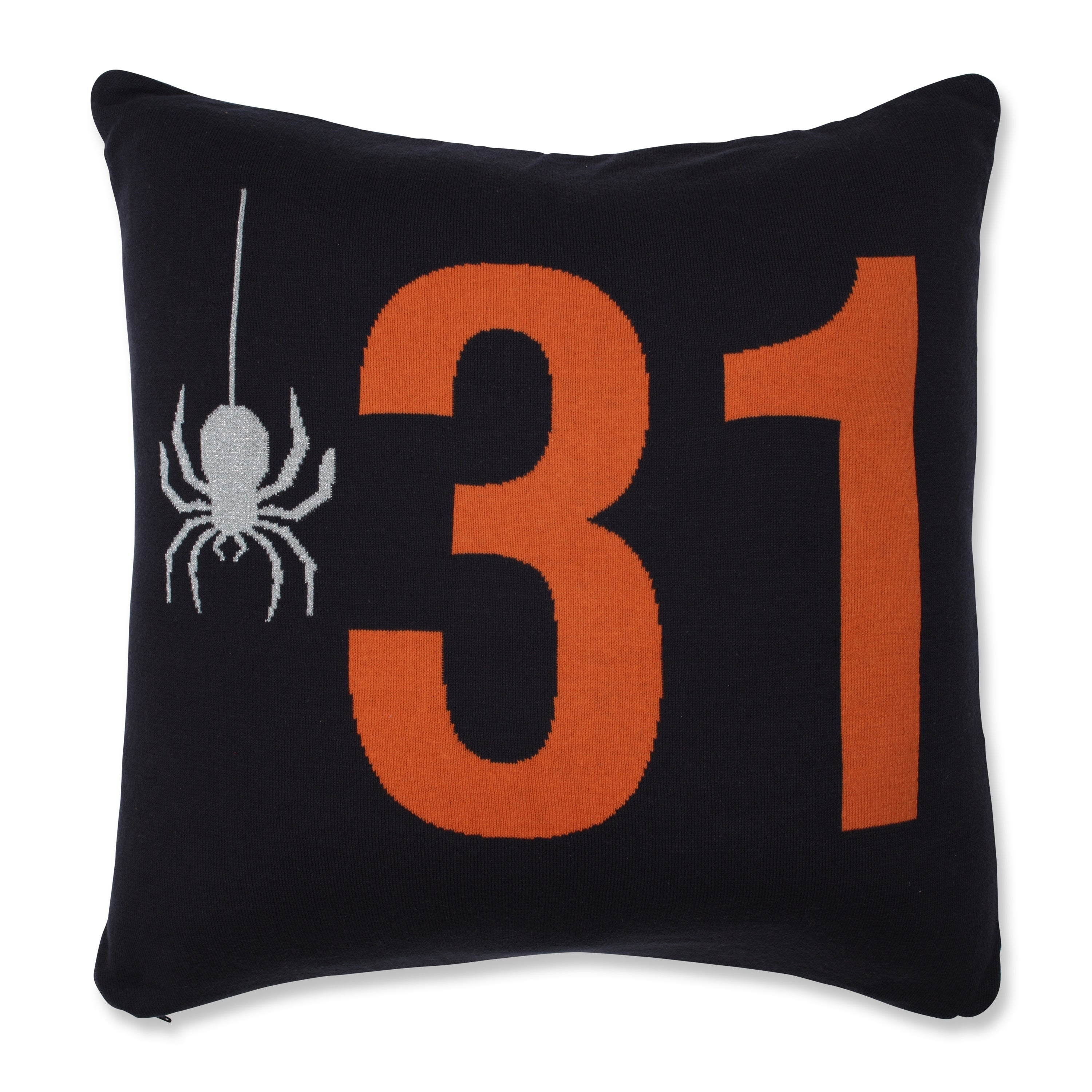 Shop Pillow Perfect Spider 31 Orange 18 Inch Throw Pillow Overstock 29297672