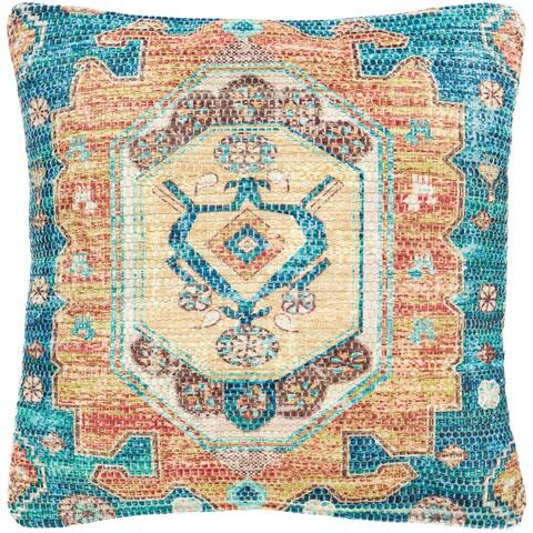 The Curated Nomad Powers Persian Medallion 18-inch Throw Pillow Cover