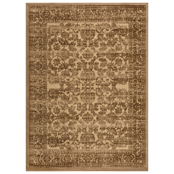 Bella Collection Traditional Floral Area Rug