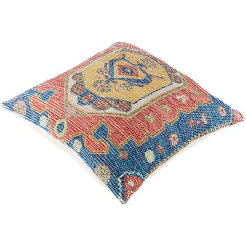 Deary Persian Medallion 26-inch Floor Pillow Cover