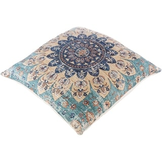 Deary Mandala 26-inch Floor Down or Poly Filled Throw Pillow