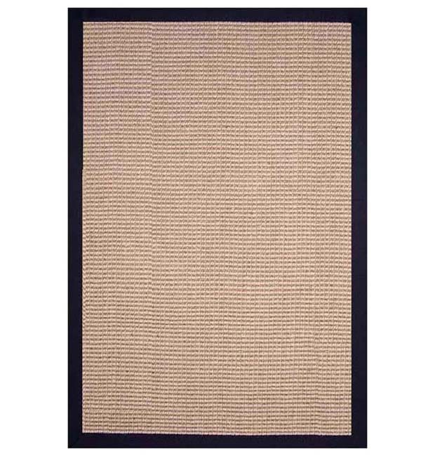 Hand Woven Black Jute Rug 5 X 8 Free Shipping Today