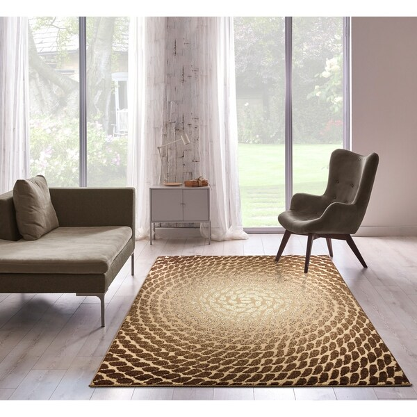 Bella Collection Modern Abstract Area Rug