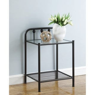 Patrick Dark Bronze Nightstand