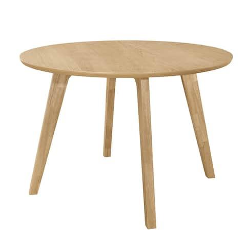 Moreno Danish Natural Round Dining Table