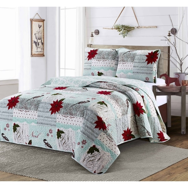 The Gray Barn Sour Gulch 3-piece Quilt Set. Opens flyout.