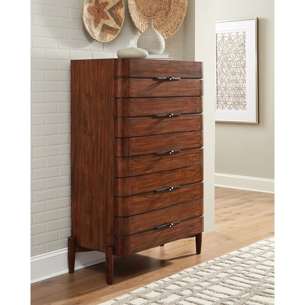 Sommers Desert Teak 5-drawer Chest